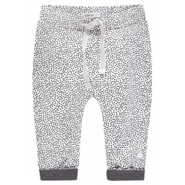 PANTALON BEBE BLANCO TOPOS NOPPIES